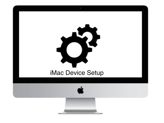 Apple imac device setup