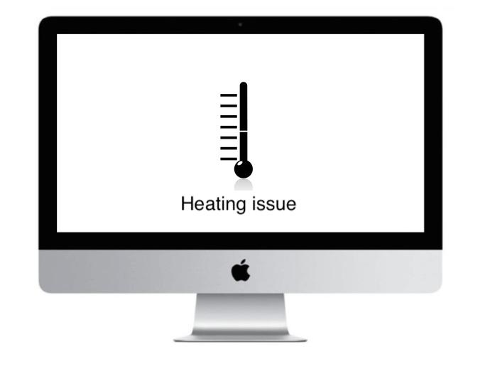 Apple iMac Heat issue Graphics issue