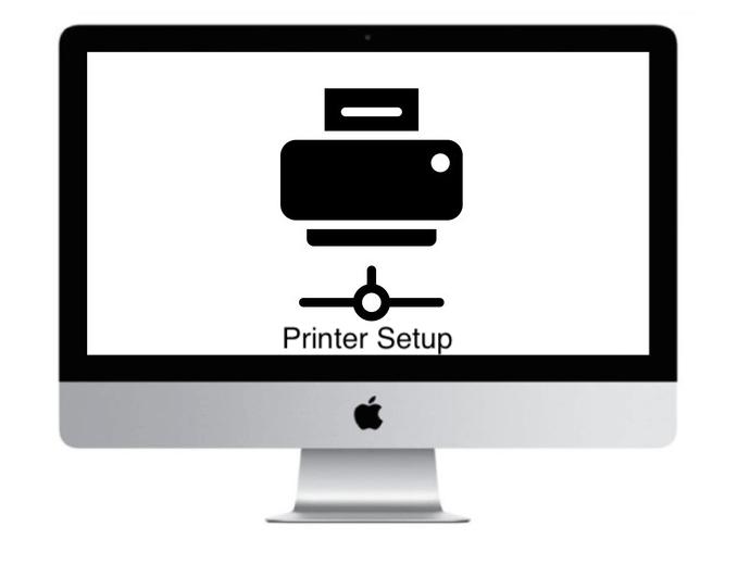 Apple iMac Network Printer setup
