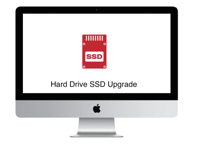 harddrive ssd upgrade imac apple