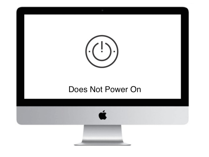 imac apple does not power on